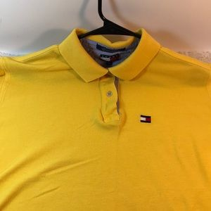 Dope Tommy Hilfiger Polo needs to be cropped ASAP